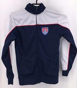 USA Soccer Blue Sweatshirt Boys size L, Large olympics