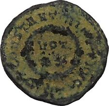 CONSTANTINE I the GREAT 320AD Ancient Roman Coin Wreath of success  i45815
