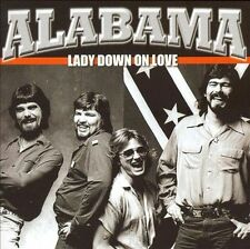 LADY DOWN ON LOVE by Alabama (CD, May-2006, Rex)