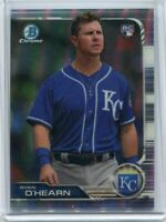 2019 Bowman Chrome Ryan O'Hearn Sp Photo Variation Royals RC Blue Jersey Rookie