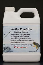7 qts. of 32oz.Shelby Pond Dye Concentrated - Treats 7 acres 4'-6' Best  Deal !