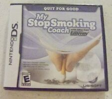 NINTENDO DS Game MY STOP SMOKING COACH ~ Allen Carr's EasyWay ~ Rated E Everyone