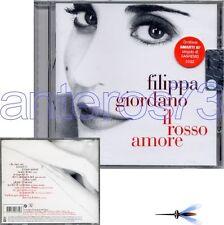"""FILIPPA GIORDANO """"IL ROSSO AMORE"""" RARO CD SIGILLATO"""