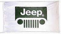 Große Jeep Flagge (Kühlergrill) 1500mm x 900mm (von)