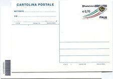 2013 Intero Postale Posta Italiana - cartolina ordinaria CODICE A BARRE 1551