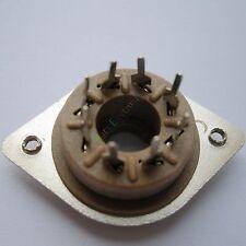 50pcs 8pin Belton Style vacuum tube sockets PCB mount valve EL34 6550 KT88 audio
