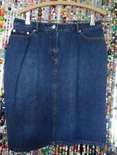 DENIM Skirt sz 8 5 pocket Isaac M target 100 cotton FREE SHIP
