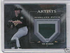 2005 DONRUSS BEST OF FAN TIM HUDSON GAME USED JERSEY