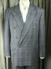 RARE 80s Paul Smith at Cue by Austin Reed Prince of Wales Suit C40R W33 L26.5