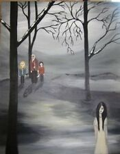 VYCKIE VAN GOTH canvas PRINT #03/25 SIGNED Horror The Strangers 11x14