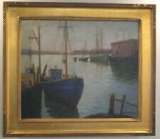 AMERICAN OIL PAINTING BY ABRAHAM ROSENTHAL (1886-1964)
