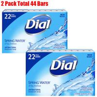 Dial Antibacterial Deodorant Soap, Spring Water (4.0 oz., 22 ct.)-2 Pack
