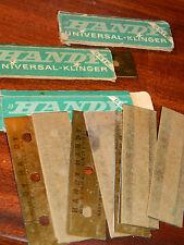 vintage 15 lame RASOIR universal klinger HANDY BLADE 80-22 mm denmark OUTIL tool