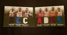 2013/14 Panini Preferred Book LeBron Durant Harden Irving Davis game worn jersey