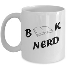 Book nerd funny coffee mug gift - coffee table reading readers accessories gifts