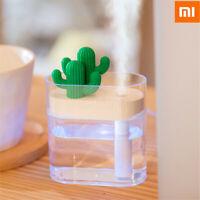 XIAOMI Clear Cactus Ultrasonic Air Humidifier 160ML Color Light USB Air Purifier