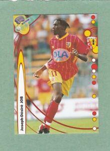 JOSEPH-DESIRE JOB LENS FRANCE FOOTBALL 2000 CARD #70