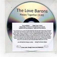 (FU664) The Love Barons, Happy Together - 2014 DJ CD