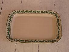 Williams Sonoma Anfora Verde Rectangular Platter, Made in Mexico - NEW