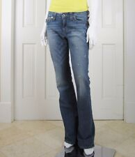 TRUE RELIGION $290 : 30 : ORIG Hi Rise Boot Stud Srm Rowdy Man Jeans Studded NWT