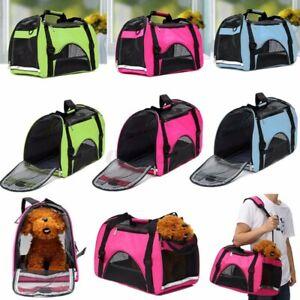 Large Pet Carrier OxFord Soft Sided Cat/Dog Comfort Travel Tote Shoulder Bag  S
