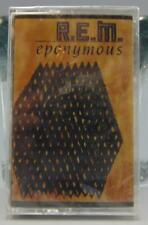 R. E. M. REM Eponymous (Audio Cassette, 1988, I. R. S.)  IRSC-6262 Sealed