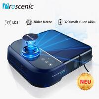 Proscenic D500 Aspirateur Robot laveur tapis poils animaux LDS Laser Navigation