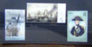 Ascension 2005 Bicentenary of Battle of Trafalgar set 2nd issue LMM