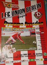 2008/09 3.Liga 1.FC Union Berlin - Dynamo Dresden