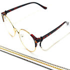 Reading Glasses Spectacles Glasses Sunglasses Holder Neck Cord Metal Chain