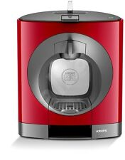 NESCAFE Dolce Gusto, Oblo, Manual Coffee Machine by Krups - Red