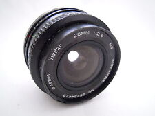 VIVITAR 28MM F2.8 MC OLYMPUS FIT WIDE ANGLE MANUAL FOCUS LENS