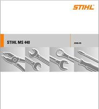Reparaturanleitung für defekte Stihl Motorsäge MS 440, 044 (460, 046) ++ Zugaben