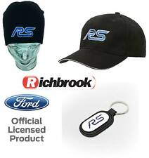 Richbrook Ford RS Logo Baseball Cap, Beanie Hat & Keyring Focus Combo Gift Set
