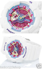 BA-112-7A White Analog Digital Resin Band Japan Baby-G Casio Lady Watches 100m