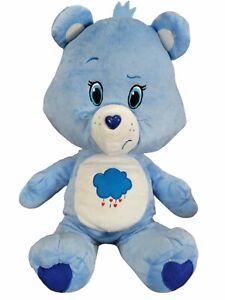 """Care Bears 2015 Grumpy Bear Plush Stuffed Bear Kellytoy 17"""""""