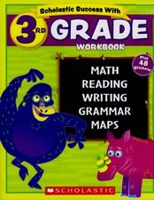Scholastic - 3rd GRADE Workbook with Motivational