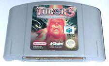 Spiel: TUROK 3 Shadow of Oblivion Nintendo 64 / N64 - guter Zustand USK18