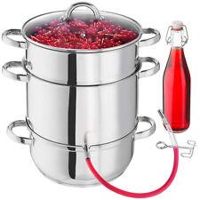 Induktion Edelstahl Dampfentsafter Entsafter Fruchtentsafter Obst Saftpresse