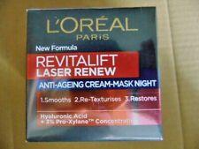 L'Oreal Revitalift Laser Renew Night Mask - 50ml - BRAND NEW & BOXED!