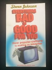 EVERYTHING BAD IS GOOD FOR YOU by S JOHNSON-PENGUIN - P/B - UK POST £3.25*PROOF*
