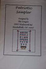 Victorian SAMPLER Civil War Mid 19 Century Needlepoint Cross stitch Patterns New