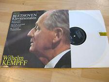 LP Beethoven pianoforte SONATE Wilhelm Kempff VINILE eterna DDR 8 26 664