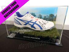 ✺Signed✺ David Pocock Football Boot Proof Coa Wallabies Act Brumbies 2020 Jersey