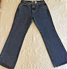 Calvin Klein Women's Vintage Easy Fit Double Stone Wash Jeans Size 10 (30 x 30)