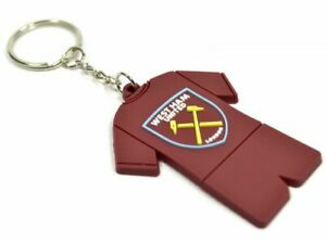 West Ham United fc Full Kit PVC Keyring