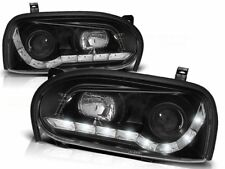 LED FARI ANTERIORI LPVW43 VW GOLF MK III 1991 1992 1993 1994 995 1996 1997 NERO
