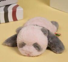 Cute Pink Panda Plush Stuffed Animal Newborn Real Size Kids Birthday Gift
