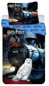 Harry Potter Bedding Owl & Train Cover & Pillow Duvet cover Single 100%COTTON