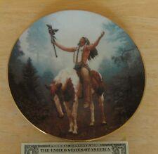 The Hamilton Collection Deliverance 1992 Collectors Plate Mystic Warriors